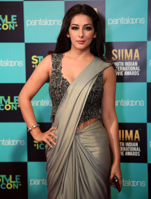 South Indian Actress Sameksha Singh at SIIMA Awards 2019