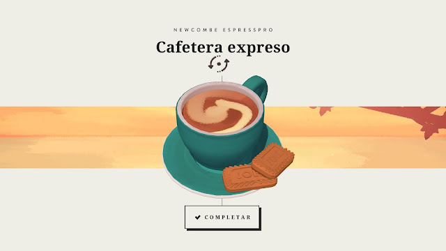 Assemble with care cafe expresso