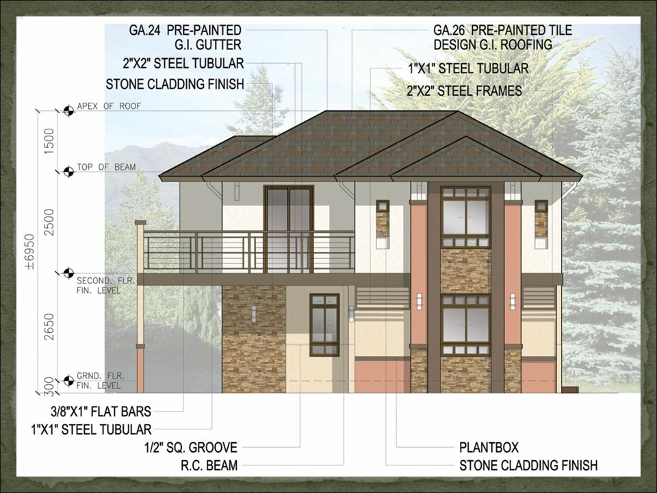 Free House Plans Designs Philippines Custom Home