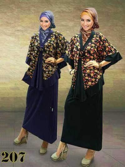 Model Baju Gamis Modern Terbaru 2013