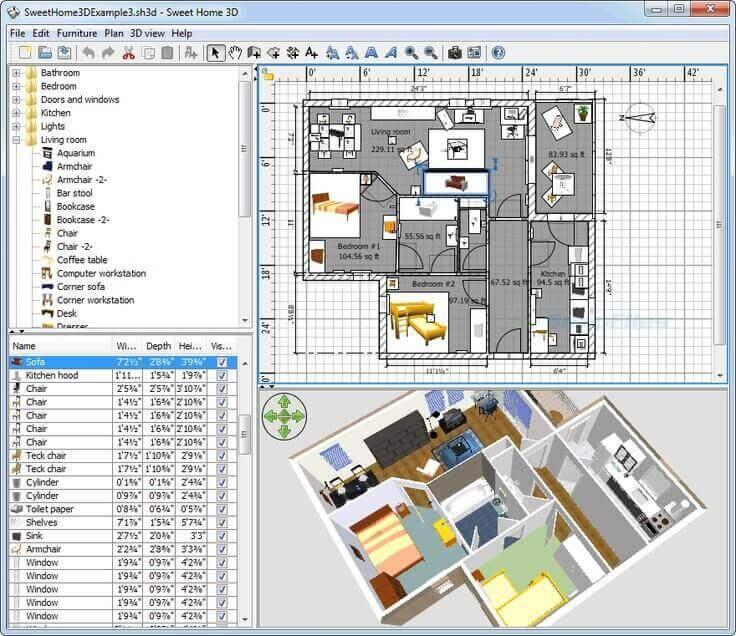 Home Design 3d Pc Chomikuj: تحميل برنامج تصميم المنازل سويت هوم ثري دي Sweet Home 3D