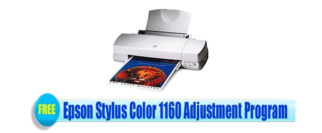 Epson Stylus Color 1160 Adjustment Program