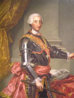 Carlos III de Mengs. Museo del Prado, Madrid.