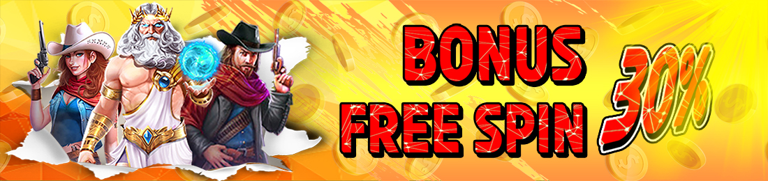 BONUS FREE SPIN 30%