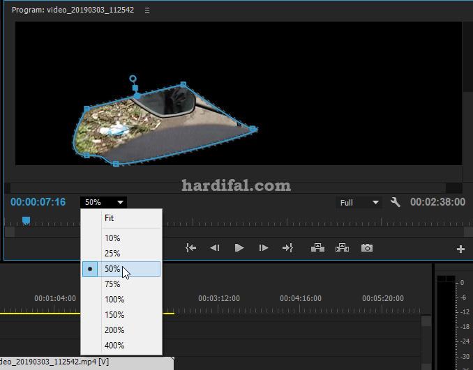 Cara masking di adobe premiere pro cc - zoom in-out