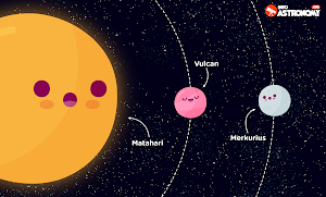 Vulcan: Planet yang Tidak Pernah ada di Tata Surya
