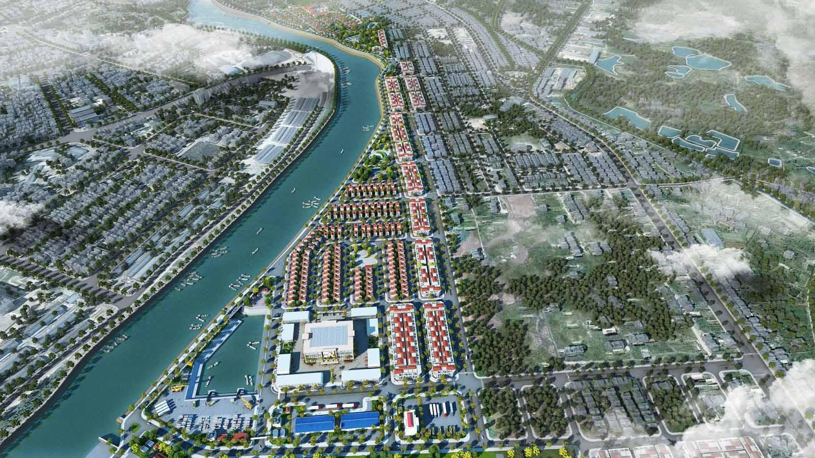 Phối cảnh dự án Royal Riverside City