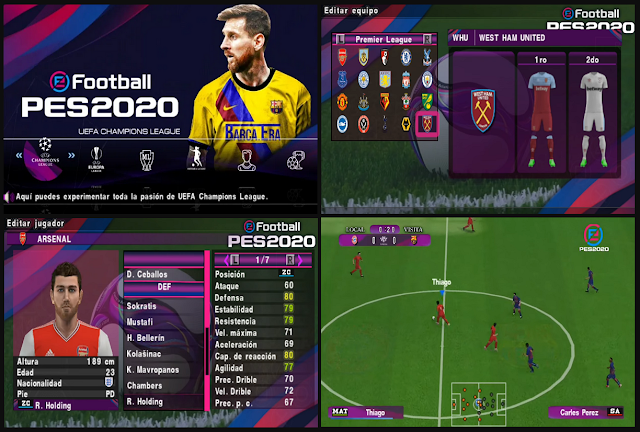 Download PES 2020 PPSSPP Chelito C19 Patch G Allves PSP Games for Android