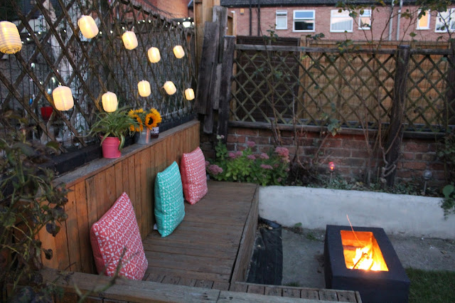 garden design ideas with fire pit