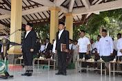 Bupati Sidoarjo Pimpin Upacara Hari Santri Nasional 2019