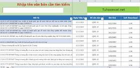 Share File quản lý văn bản, tài liệu , có chức năng tìm kiếm nhanh
