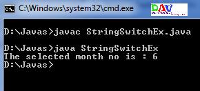Java 7 New Concept