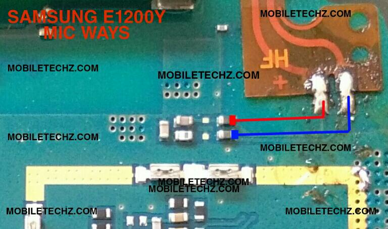 samsung-e1200y-mic-ways-jumper-problem-solution