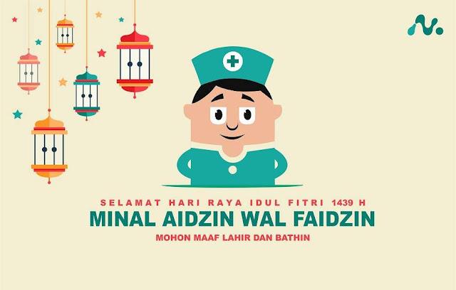 20 Ucapan Idul Fitri Versi Tenaga Kesehatan Terbaru yang Kekinian
