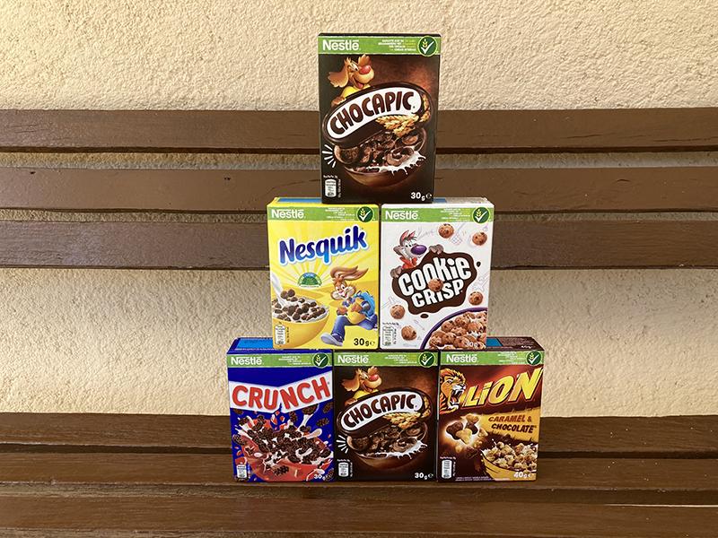 Mini cereales