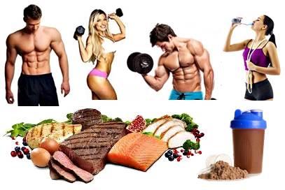 Alimentos y batidos de proteínas post rutina de pesas para ganar masa muscular