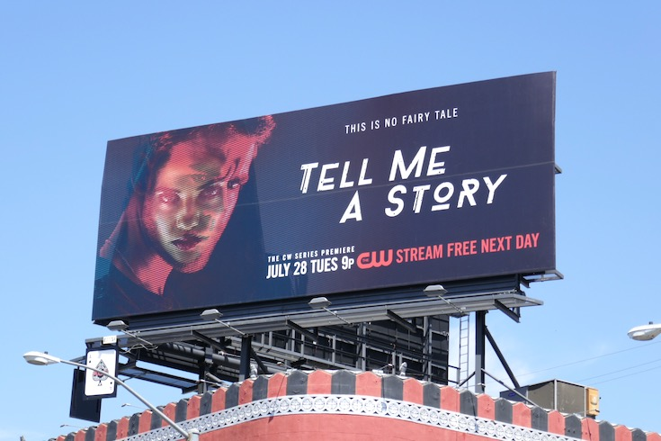 Tell Me A Story CW series premiere billboard