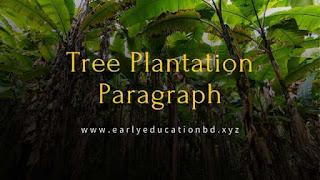 Short Paragraph on Tree Plantation | EEB