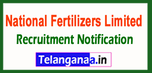 National Fertilizers Limited NFL Recruitment Notification 2017
