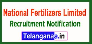 National Fertilizers Limited NFL Recruitment Notification 2017 Last Date 07-06-2017