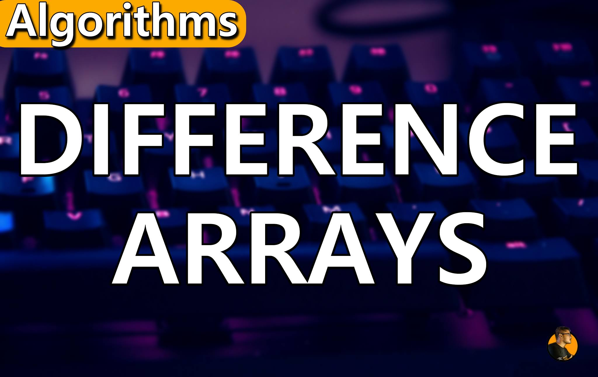 Difference Array  algorithm udating range query the cs engineer