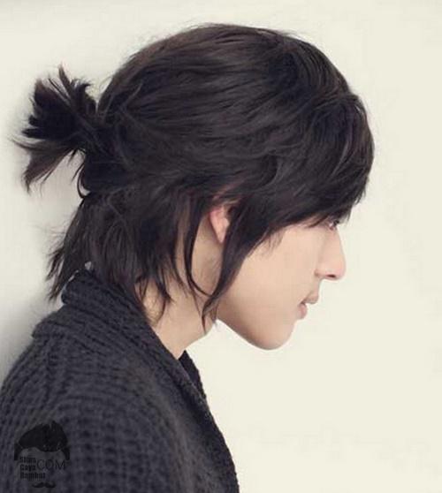 gaya rambut korea cowok
