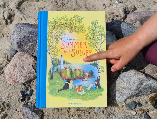 """Für mehr Leichtigkeit im Familienleben! Das Kinderbuch """"Sommer auf Solupp"""" bietet leichte Lösungen für schwere Themen an."""