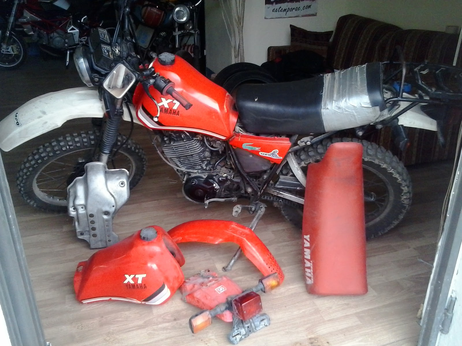 Motoricambi-usati: Ricambi yamaha xt 550