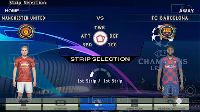 PES 2010 Android PPSPP Updated Season 2019/2020