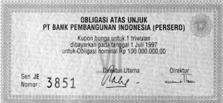 Pengertian Obligasi