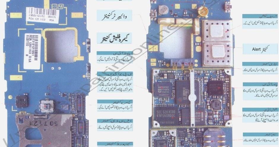 Mobile Repairing Diagram In Urdu