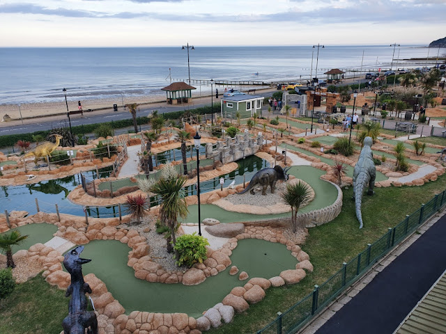 Pirates Cove Adventure Golf at Shanklin Seafront