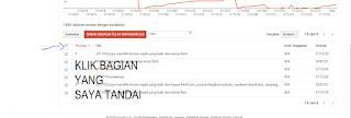 Mempercepat index artikel dengan webmaster tools
