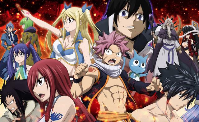 Anime Fairy Tail confirma su final con el episodio 328