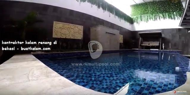 kontraktor kolam renang di harapan indah