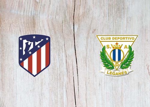 Atletico Madrid vs Leganes -Highlights 26 January 2020