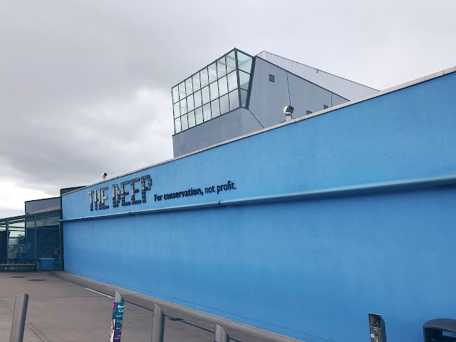 Exterior of The Deep visitors centre