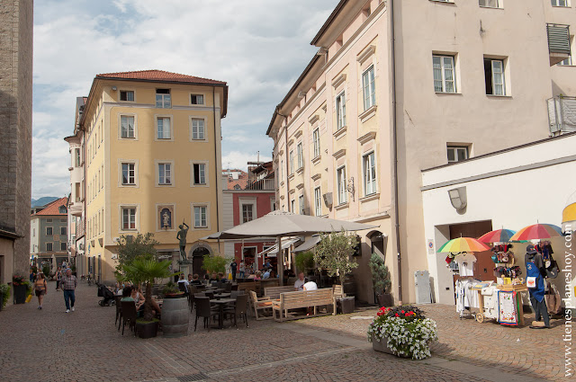 Bressanone Italia turismo ciudad Dolomitas