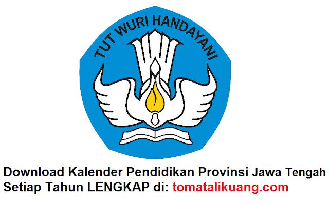 kalender pendidikan jawa tengah tahun pelajaran 2020/2021; tomatalikuang.com