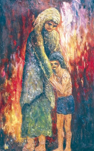 Elias Delgado. Desamparo (Abandonment). 1968
