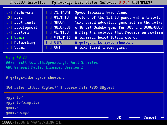 FREEDOS LOAD PACKET DRIVER PC