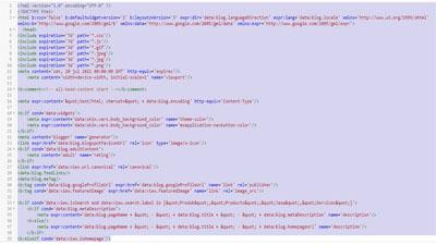 Cara hapus dan reset kode HTML, widget  template blog sekaligus