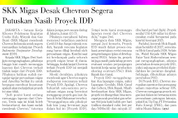 SKK Migas Urges Chevron to Immediately Decide on the Fate of the IDD Project