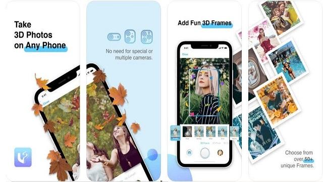 تطبيق إنشاء الصور ثلاثية الأبعاد LucidPix