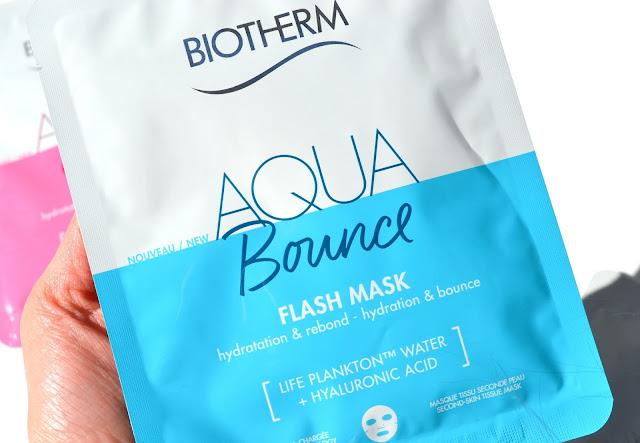 Biotherm Aqua Bounce Flash Mask Review