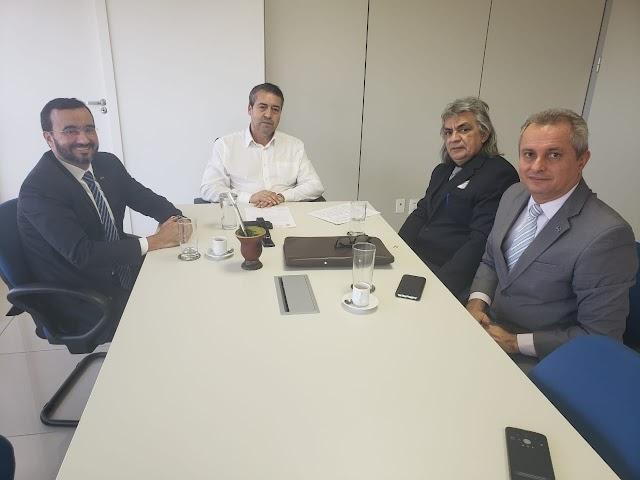 Prefeito Inácio Nóbrega cumpre intensa agenda na Capital Federal