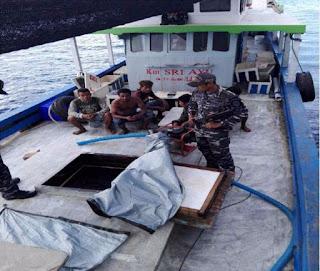 Patroli Bakamla RI Amankan Kapal Dokumen Palsu