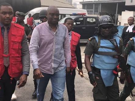 PHOTOS: Fayose In Court Today As His Trial Begins