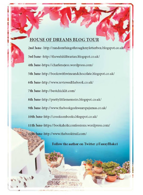 """Tour // Review & Guest Post: """"House of Dreams"""" by Fanny Blake"""