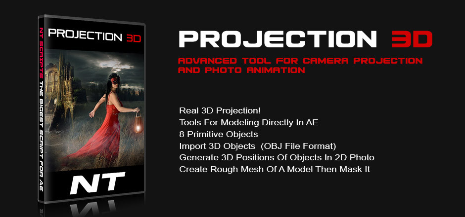 Projection 3D v1 0 Plug-in for After Effects - Download Full